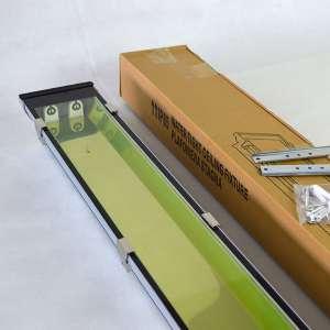 铝合金钢化玻璃罩LED三防灯支架