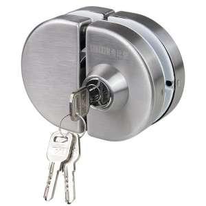 广州希比信玻璃门锁 不锈钢玻璃门锁 有框玻璃门锁