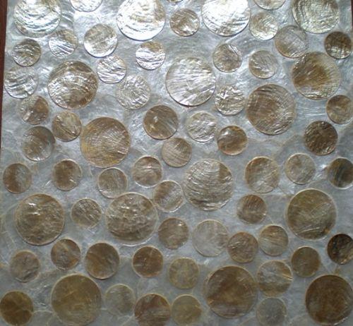 贝壳雕花墙纸,贝壳背景墙