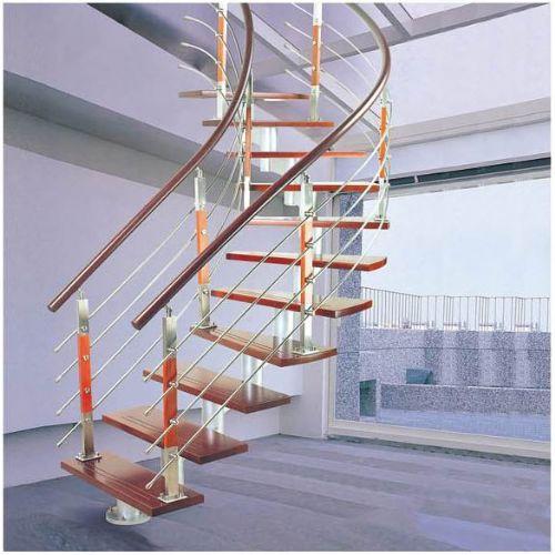 供应YS不锈钢整体楼梯整套