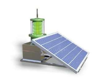 太阳能气象目标物灯