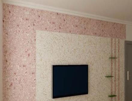 北京漆华仕天然植绒墙衣墙绒 墙基布纤维