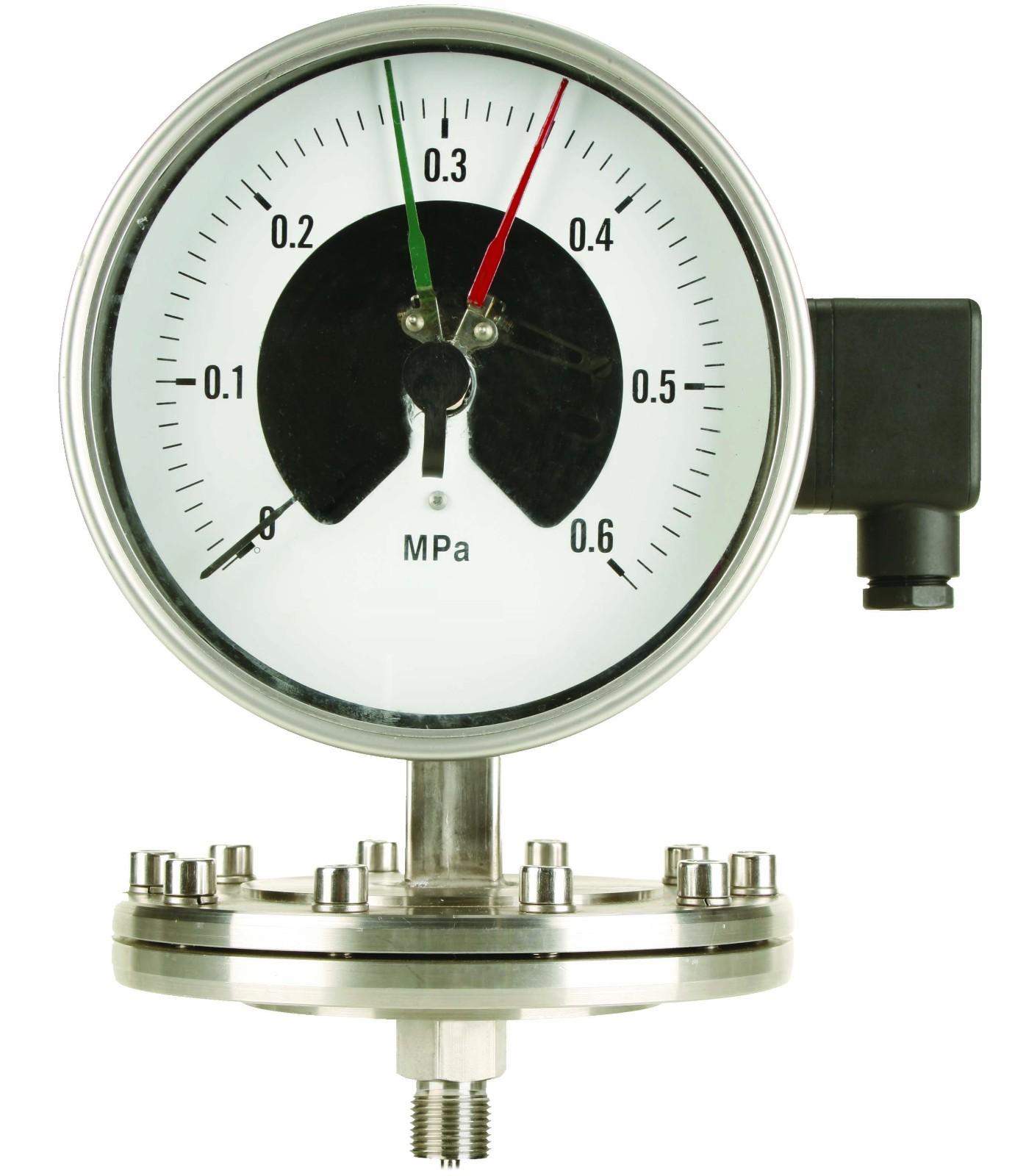 工业压力仪表的选用
