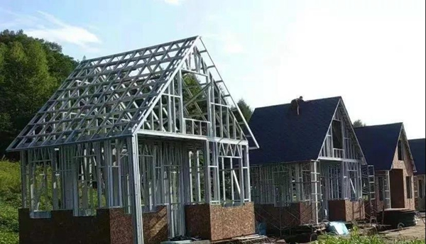 科技·安全·家——鲁班建造·轻钢别墅!